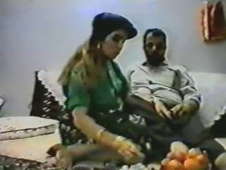 Vintage arab amateur couple make hard homemade anal