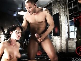 Exotic Katsuni having oral fun with hard cocked dude Rocco Siffredi before...