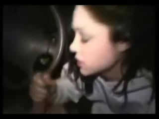 Amateur Masturbation in a car