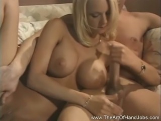 Wonderful Large Breasts handjob free
