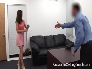 Amateur First Anal, Ambush Creampie on Casting Couch free