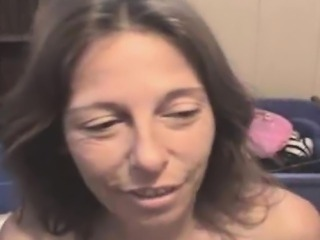 Brunette Street Whore With A Few Extra Miles Take Facial POV
