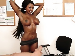 Mr. Pete plays hide the salamy with Diamond Jackson with juicy hooters and...