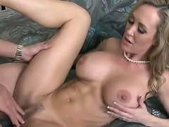 Brandi Love is a busty MILF beauty with nice body. Experienced woman with...