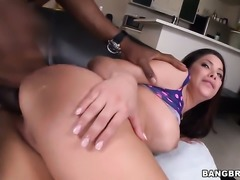 Asian Alexa Nicole with juicy butt wants this handjob session to last forever