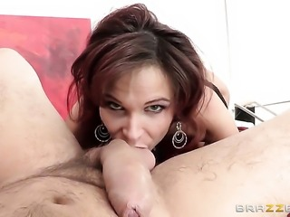 Manuel Ferrara loves always wet warm fuck hole of Syren De Mer after backdoor...