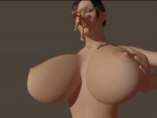giantess boob crush