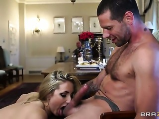 Jay Snake touches the hottest parts of pretty Paige Turnahs body after he...