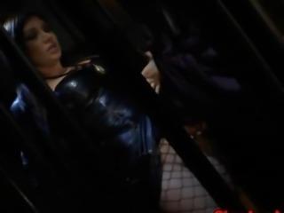 Kinky pornstars in weird nun scene