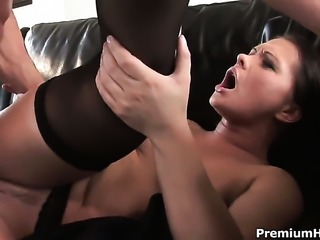 Katja Kassin is full of desire to be anally fucked