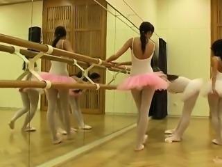 Hot ballet chick orgy