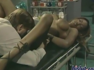 Midori is a black nurse