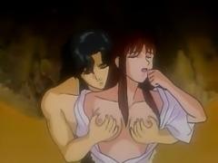 Hentai mistress fucks younger guys