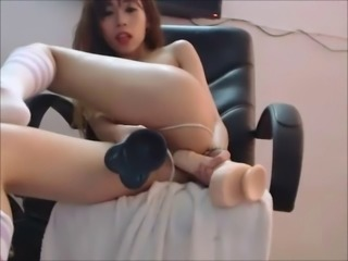 Chaturbate Monster Dildo DP