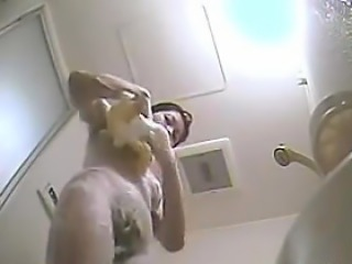 Spying On A Japanese Girl Showering