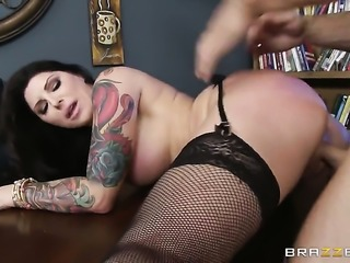 Johnny Sins drills horny as hell Darling Danikas slit in every sex positon