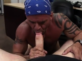 Tough gay snitching sucks cock and fucks in the ass
