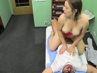 Doctor fuck big ass patient in fake hospital