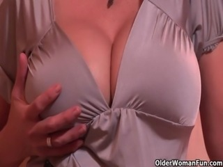 Milf June gets a creampie free