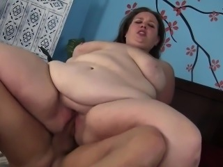 Fat and horny BBW Avery Rose gets pounded hard