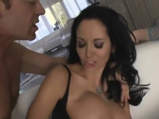 Roccos huge dick in 3some nasty anal