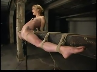 Hot Babe Tied Up And Tickled