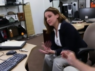 Businesslady Has To Hide Her Mistake So She Needs Cash Quick