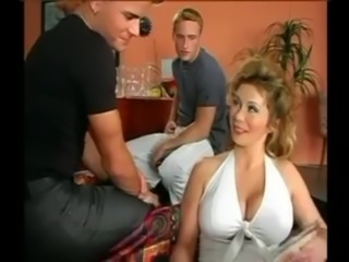 WHO IS SHE ? Awesome Natural Tits Milf free