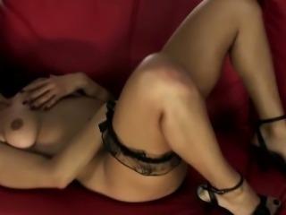 Horny Portuguese whore Monica stripping sensually