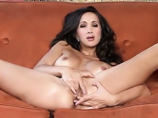 Katsuni makes her sexual fantasies cum true in solo action