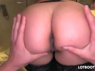 Big booty Remy LaCroix morning frig