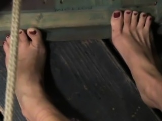 Sensory deprived slut being canned and humiliated by male ma
