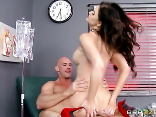 Kendall Karson in red high heels gets fucked good