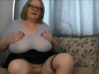 Short tartan skirt and ct - Date me at BBW-CDATE.COM