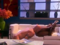 Jada Fire is spreading her sexy legs