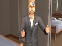 The Sims 2 Fuck Blonde & Redhead Fuck Wild