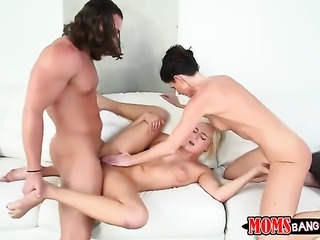 MILF India Summer gets fucked in front of Kate England