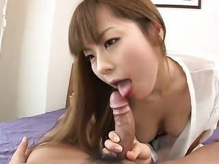 Angel faced chick wants mans fuck stick to fuck her mouth