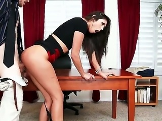 Anna Morna is able to prevent her boss from hiring her. She has been...