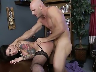 Darling Danika is getting tested by her boss, Johnny Sins. He likes to find...