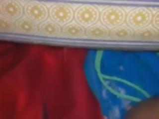 Desi wife doing boob job being fucked