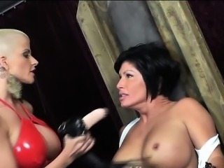 Joslyn James disciplines her new submissive slut