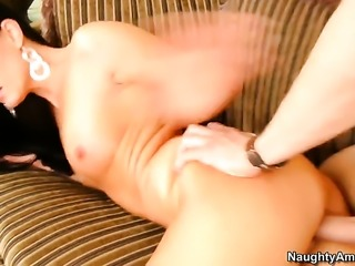Sinfully sexy honey India Summer turns Xander Corvus on to the point of no...