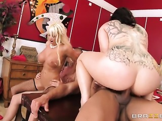 Nikita Von James has some dirty fantasies to be fulfilled with Marco...