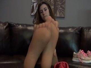 Cute Girl Cute Feet