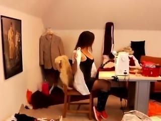 Best hardcore doggystyle first time Latoya makes clothes, bu
