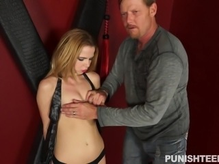 Alina West was tied up in a dungeon and she had no idea, what her master is...