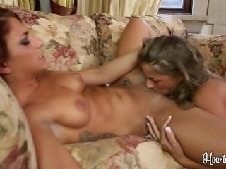 Sexy Lesbians Mischa Brooks And Presley Hart