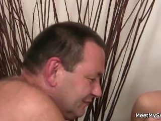Nasty parents lure her into family threesome