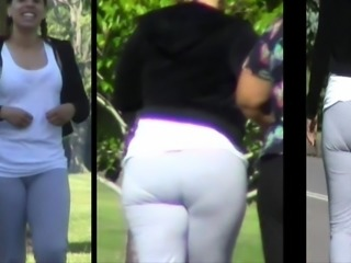 High Yellow LiteSkin Vpl Jiggle Booty